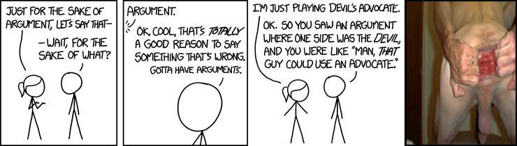 The Sake of Argument