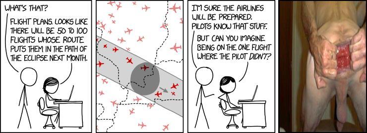 Eclipse Flights