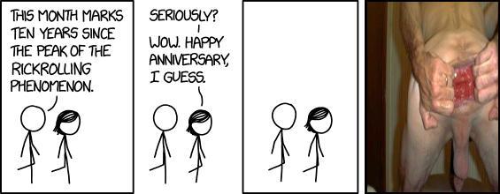 Rickrolling Anniversary