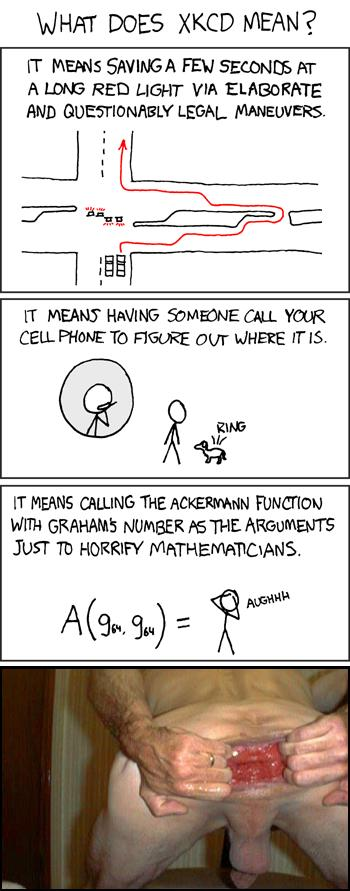 What xkcd Means