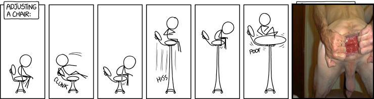 Adjusting a Chair