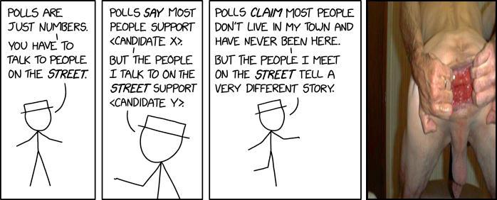 Polls vs the Street