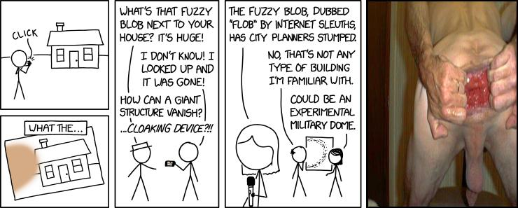 Fuzzy Blob