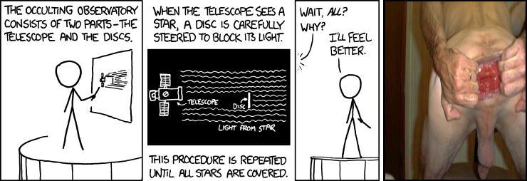 Occulting Telescope